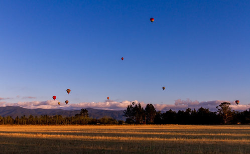 Morning of balloons