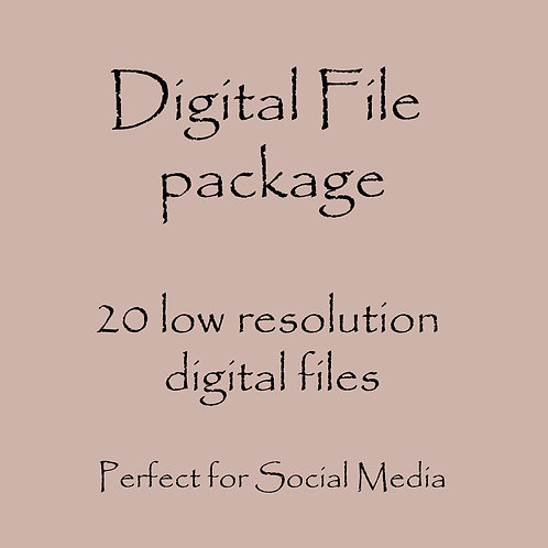 Digital photo package - 20 low resolution photos