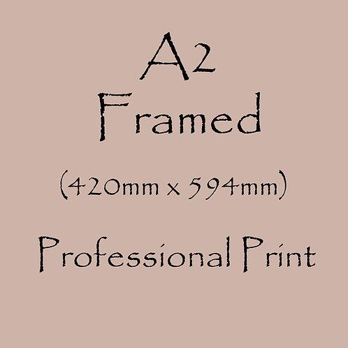 A2 FRAMED Professional Print