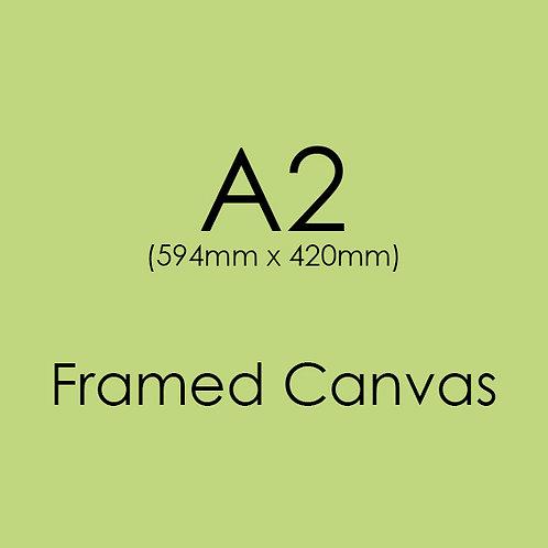A2 FRAMED Canvas