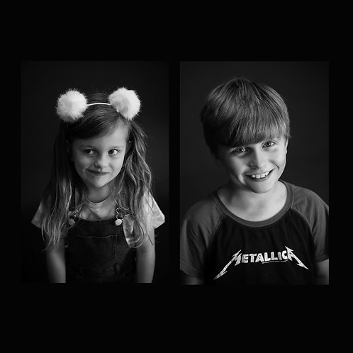 Individual photo 1-2 children