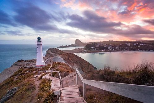 Castlepoint sunset