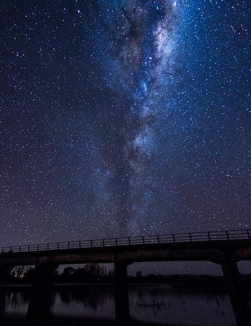 Geyser of stars
