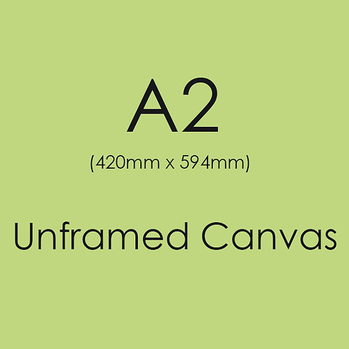 A2 Unframed Canvas