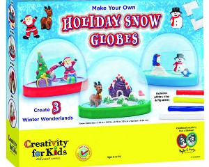 Creativity for Kids Holiday Snow Globes