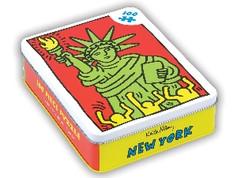Mudpuppy Keith Haring New York 100 Piece Puzzle