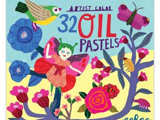 eeBoo 32 Oil Pastels