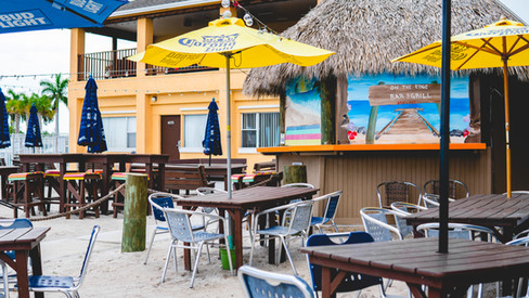 On the Edge Bar and Grill, Hutchinson Island