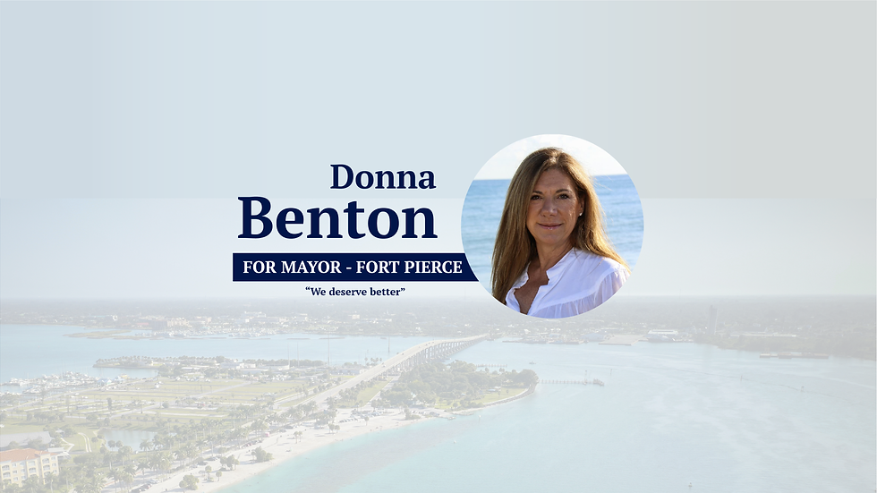 NEW Donna Benton For Mayor Website _Mesa