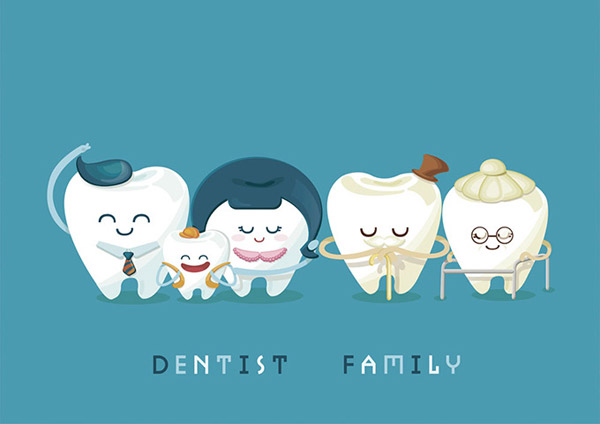 cute-cartoon-teeth-family-55030