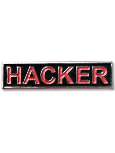 Enamel Pin - HACKER