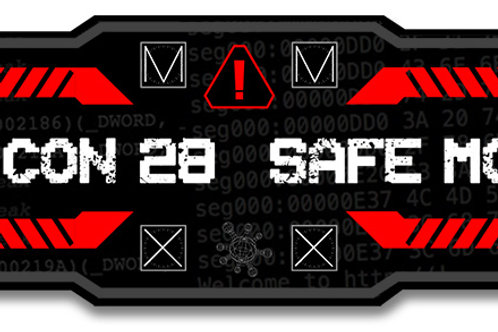 SAFE MODE Sticker