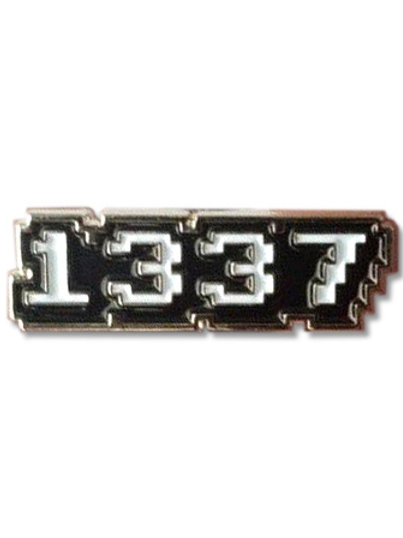 Enamel Pin - 1337