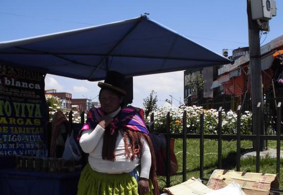 Señora in La Paz, Bolivia