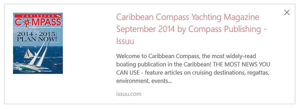 Caribbean Compass with Amanda Sailing.pn