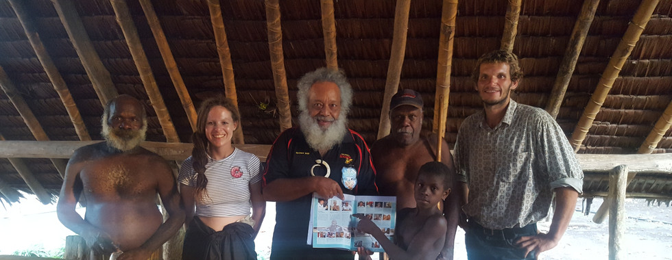 The people of Fanafo Village could hardly believe their own eyes when they saw themselves pictured in this book. Our friend and circum-navigator, Morten, established contact with the villagers some ten years ago.
