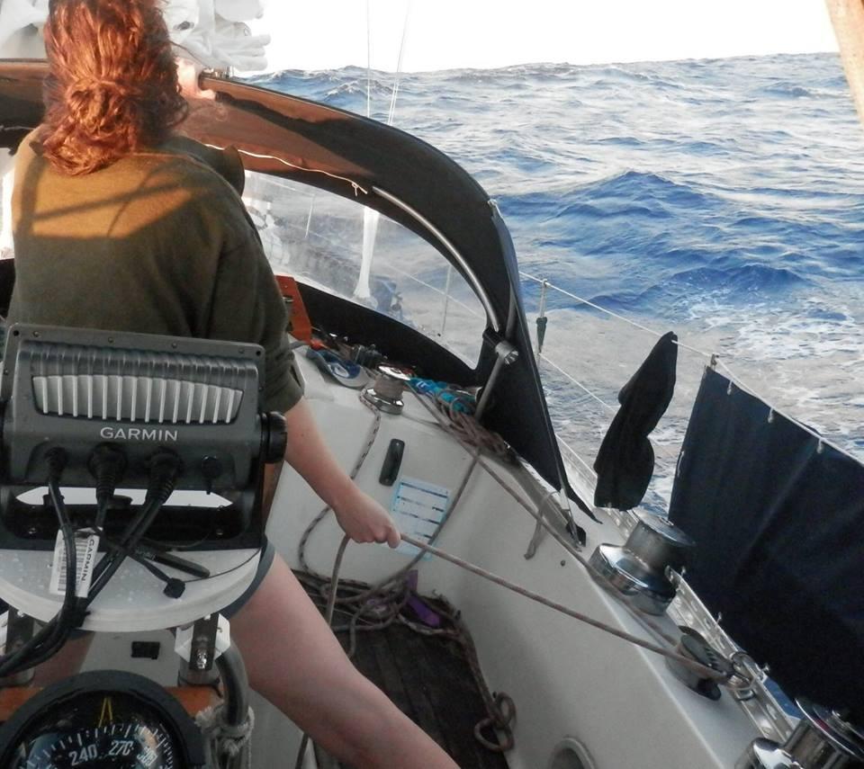Atlantic Crossing - Approaching Barbados
