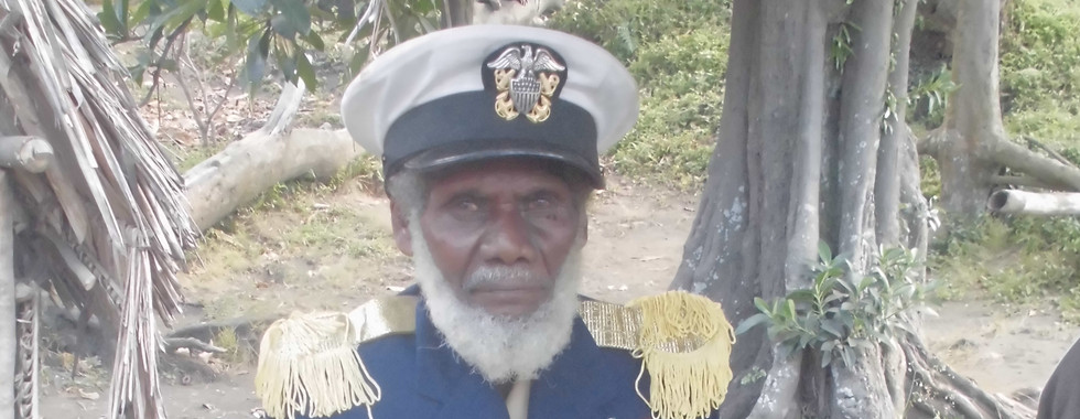 The Chief of the John From Village in South-Tanna, Vanuatu