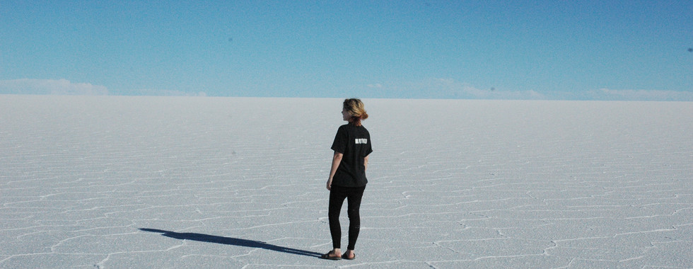 The Salt Desert of Uyuni