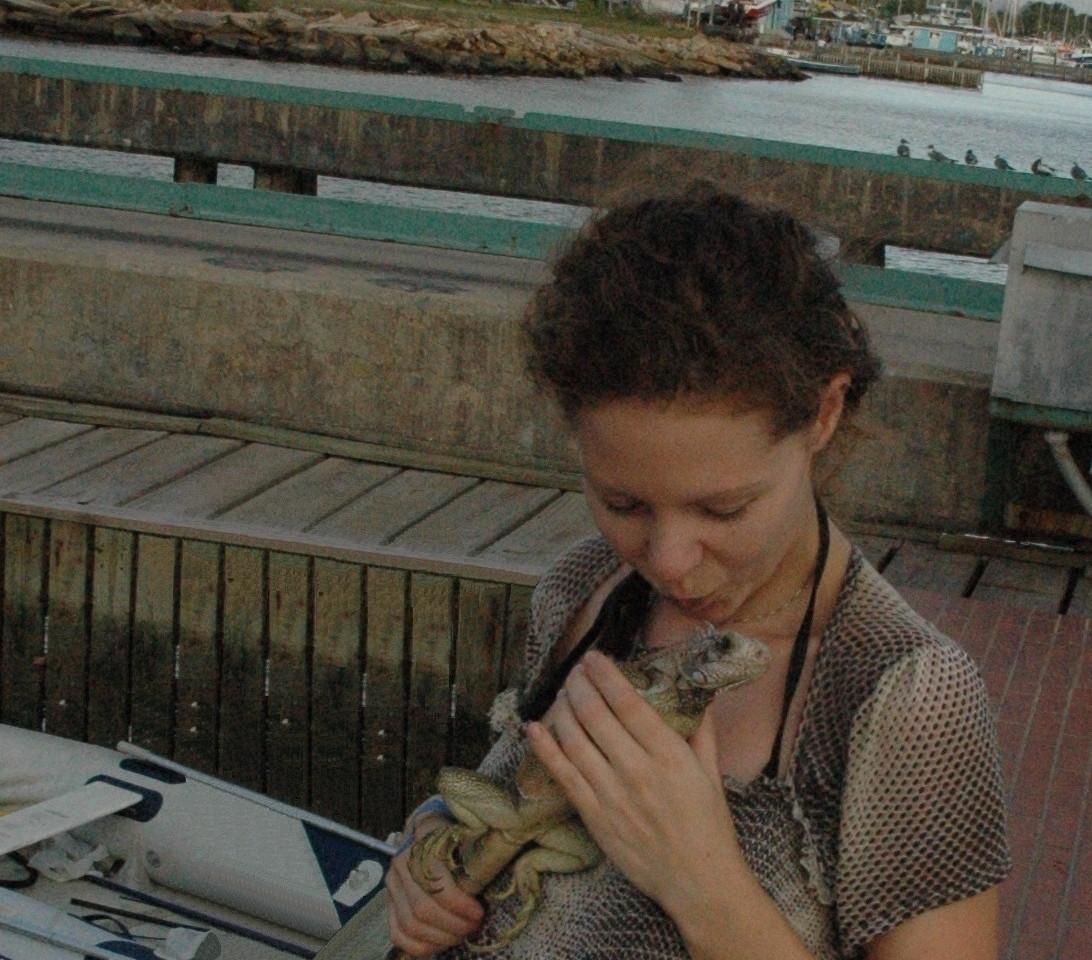 Iguana friend