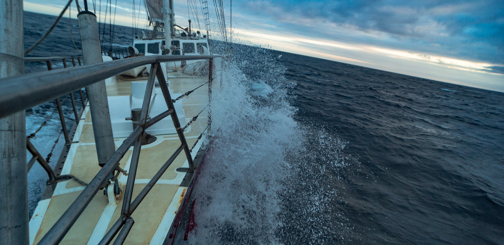 Sailing in Arctic Waters. Photo: Timothy Charody