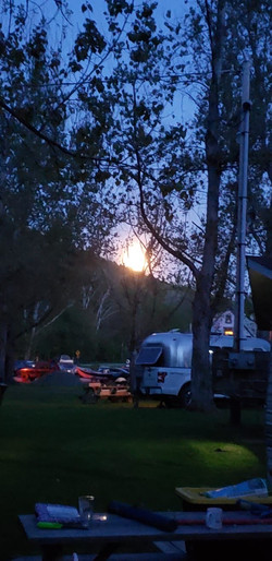 Moonlit Campsites