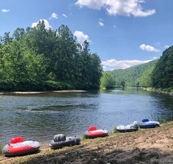 Rafting on The Delaware