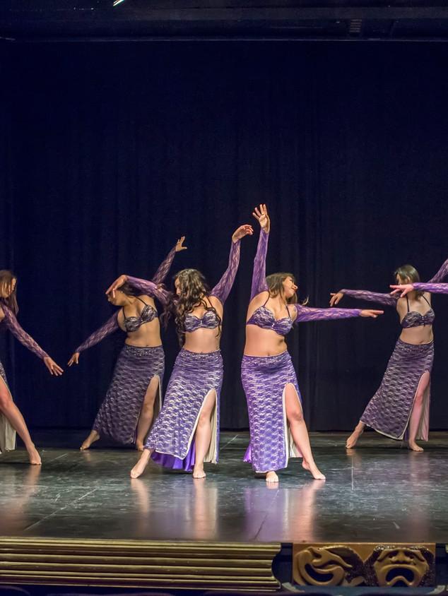 clásico safi danza árabe