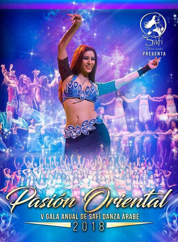 afiche safi danza árabe 2018