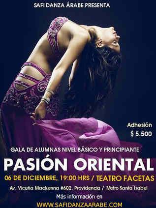 afiche safi danza árabe 2014