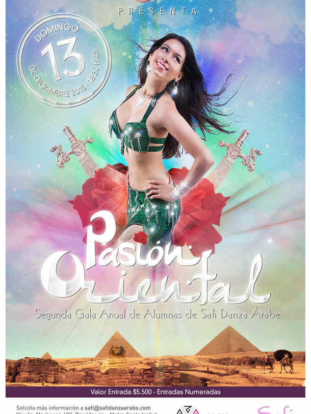 afiche safi danza árabe 2015