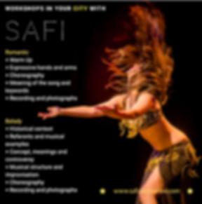 safi'´s workshops