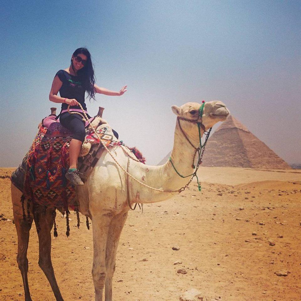 Bailarina Árabe se perfecciona en Egipto