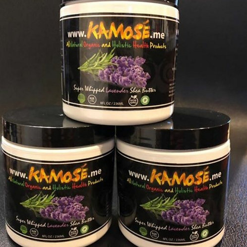 LAVENDER SHEA BUTTER FROM (KAMOSE ALL NATURAL ORGANIC)