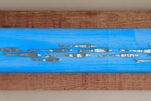 scrap metal fish art recycled materials
