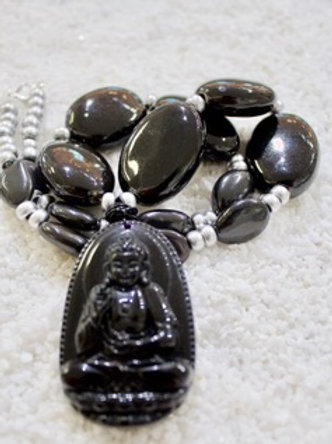 Chunky Buddha necklace