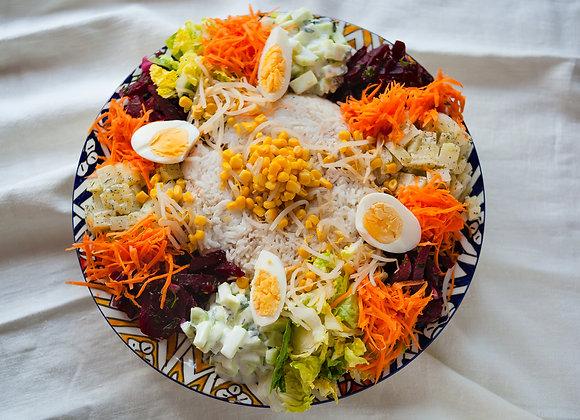Vismixsalade Groot (2 tot 5 personen)