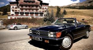 Des vacances en cabriolet Mercedes