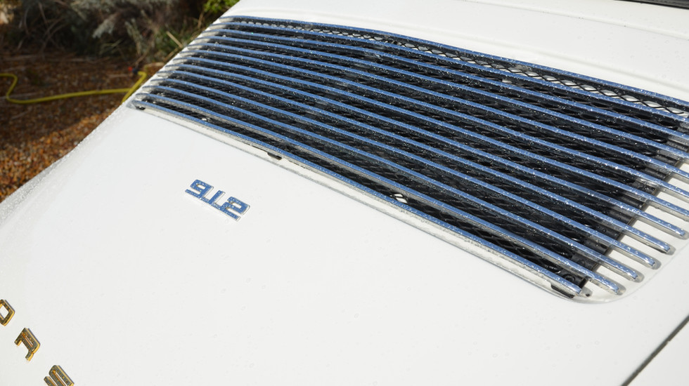 Porsche 912 Targa, vue arrière