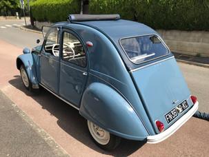 Citroën 2 CV, 1963