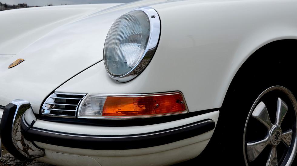 Porsche 912 Targa, phares