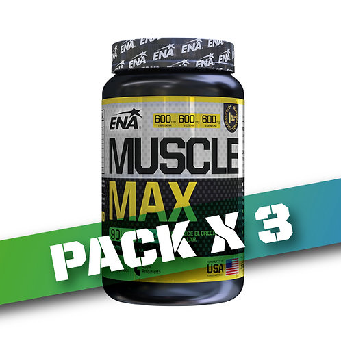 8% OFF - MUSCLE MAX x 90 tbs (Pack x3)