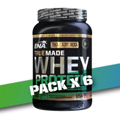 WHEY PROTEIN TRUE MADE x 2.05 LB (Pack x 6)