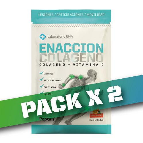 10% OFF - ENACCION COLAGENO CAJA X 10 SOBRES (Pack x3)
