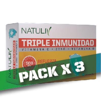 10% OFF TRIPLE INMUNIDAD (Pack x3)