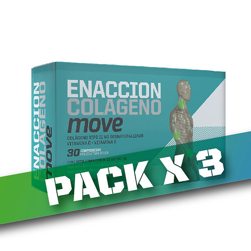8% OFF - ENACCION COLAGENO MOVE (Pack x 3)