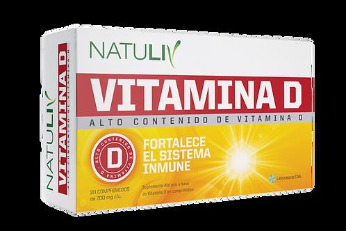 VITAMINA D NATULIV x30 Comp