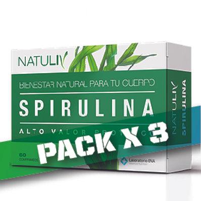 10% OFF SPIRULINA (PACK x3)
