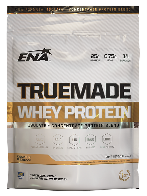 WHEY PROTEIN TRUE MADE - 1LB
