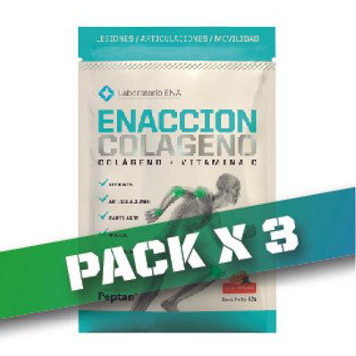 8% OFF - ENACCION COLAGENO SOBRESx10 (PACK x3)